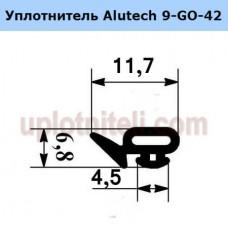 Уплотнитель Alutech 9-GO-42