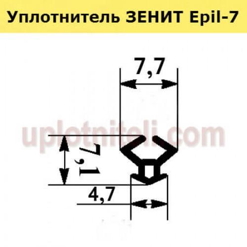 Уплотнитель ЗЕНИТ Epil-7